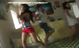 Nepali Sexy Cuttie Girls Dancing Video