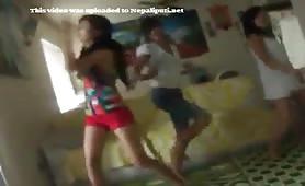 Nepali Sexy Cuttie Girls Dancing Video