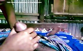 bangladeshi village couple in action