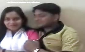 Indian Naughty Couple kissing