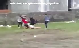 Nepali Bhalu Randi Maal Thulo Puti Haru Ko Fight Jhagadalu Puti 2013