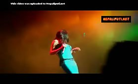 Nepali Singer Indira Joshi Hot Hard Boobs
