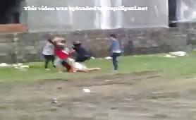 Pokhara Bhalu Randi Haru Ko Fight