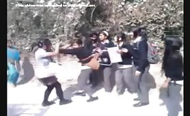 Nepali Muji Haru Ko Fight