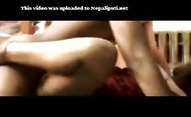 Huge boobs bangalore girl get missionary style fucked by her UNCAL !!