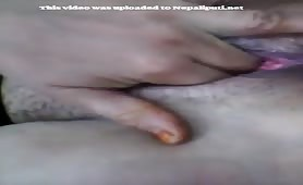 Nepali Housewife Fingering Her Wet Pussy