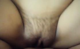 Fucking a hairy Nepalian girl