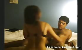 Experienced Indian babe