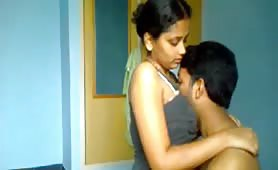 Amateur Nepali couple