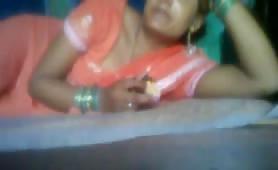 Indian on webcam
