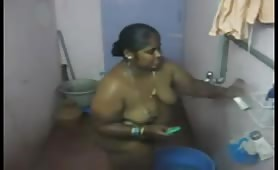 Hidden camera in a shower