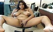 Horny Nepali masturbating on live webcam