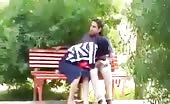 Nepali teen sucking cock in public