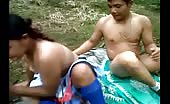 Desi teen fucking hard outdoor