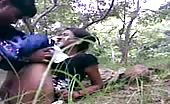 Desi teen fucking in jungle