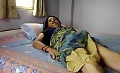 Indian aunty masturbating solo