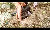 Amateur Indian couple fucking outdoor