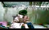 Young Indian couple having sex