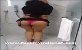 Striptease with a pakistani babe